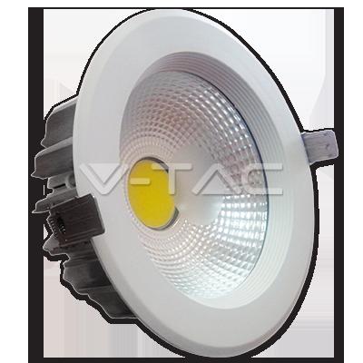 20W Spot LED Riflettore PKW corpo Bianco caldo