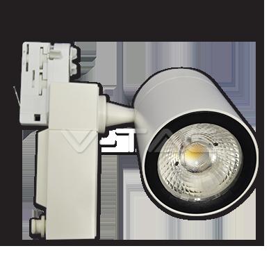 35W Proiettore a pista LED Bordo Bianco Bianco Caldo