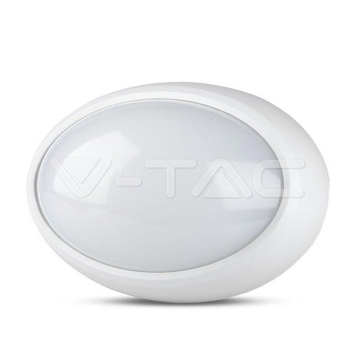 8W Plafoniera LED Ovale Corpo Bianco Bianco naturale IP66