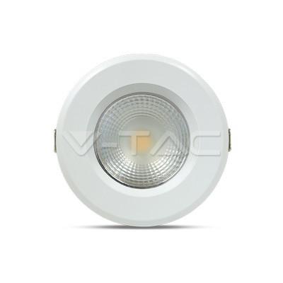 10W Spot LED COB Rotondo A++ 120Lm/W Bianco naturale