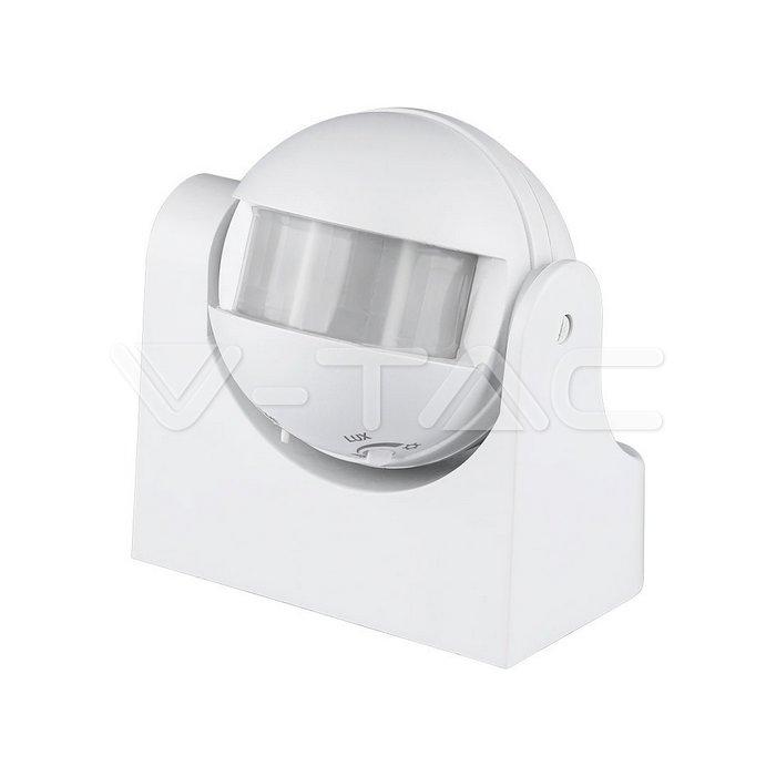 Sensore di movimento infrarosso bianco 180gradi