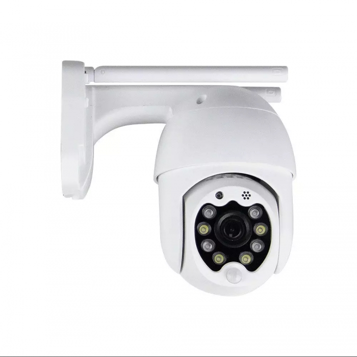 P09-8 WIFI Outdoor Camera With 8 Led Lights 3MP IP65 Dome