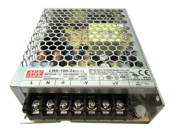 Alimentatore CV Trasformatore 24V 100W 4,5A Da AC 220V A DC 24V