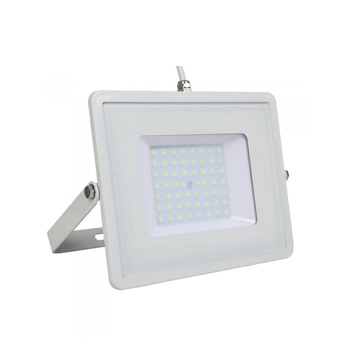 50W Proiettore LED SMD SAMSUNG Chip Corpo Bianco Luce Bianca Naturale