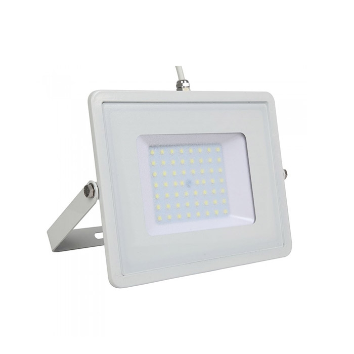 50W Proiettore LED SMD SAMSUNG Chip Corpo Bianco Luce Bianca