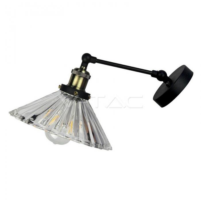 Lampada da parete W/V Forma Vetro __180mm