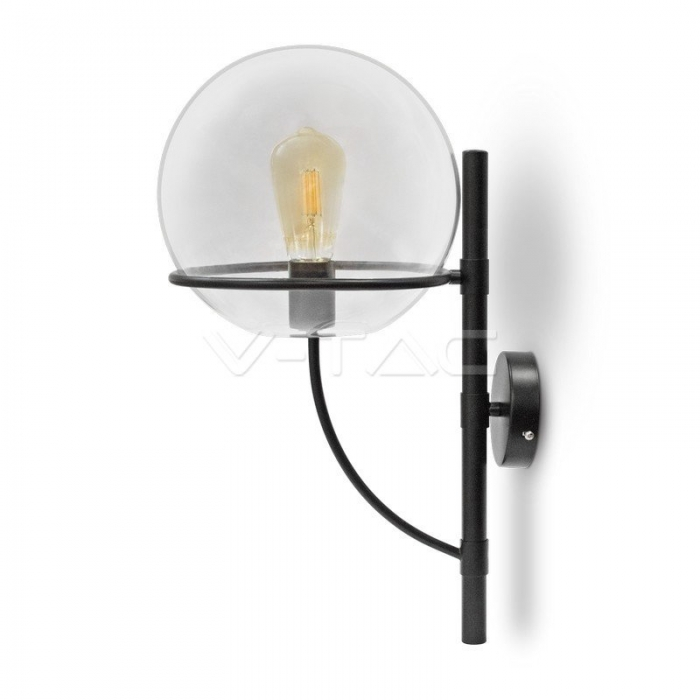 Lampada da parete Globo Vetro Trasparente __210mm