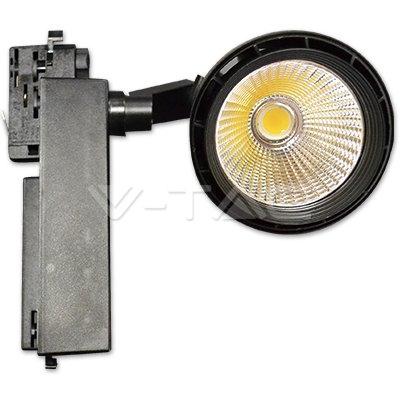 33W LED Track Light White Body 3000K