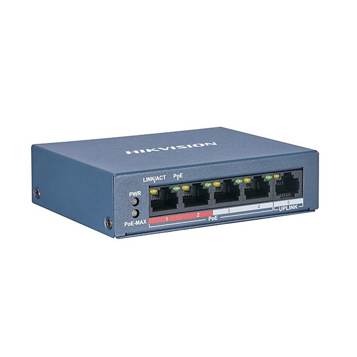 Switch di rete 5 porte POE