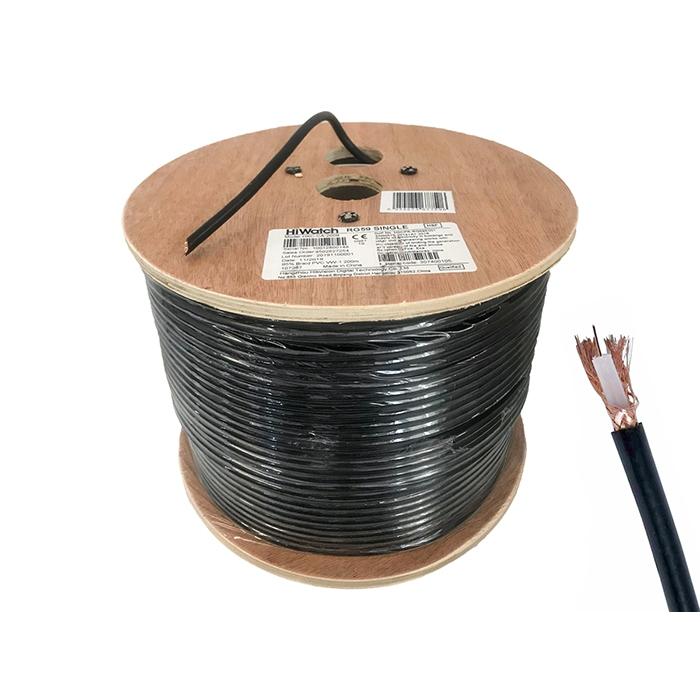Matassa Bobina Cavo Coassiale Video RG59 Cable 200 Metri Per Videosorveglianza