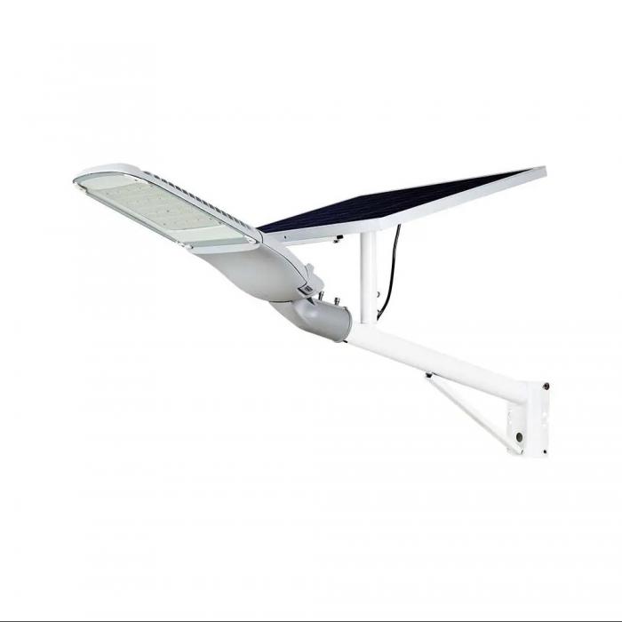 Armatura Stradale Chip Samsung 300W con Pannello Solare Colore Bianco 6000K IP65