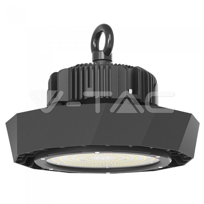 LED Sospensione industriale SAMSUNG Chip 100W Corpo Nero 160LM/W 4000K