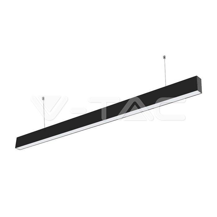 Luce lineare a LED SAMSUNG Chip 40W Corpo nero sospeso 3 in 1
