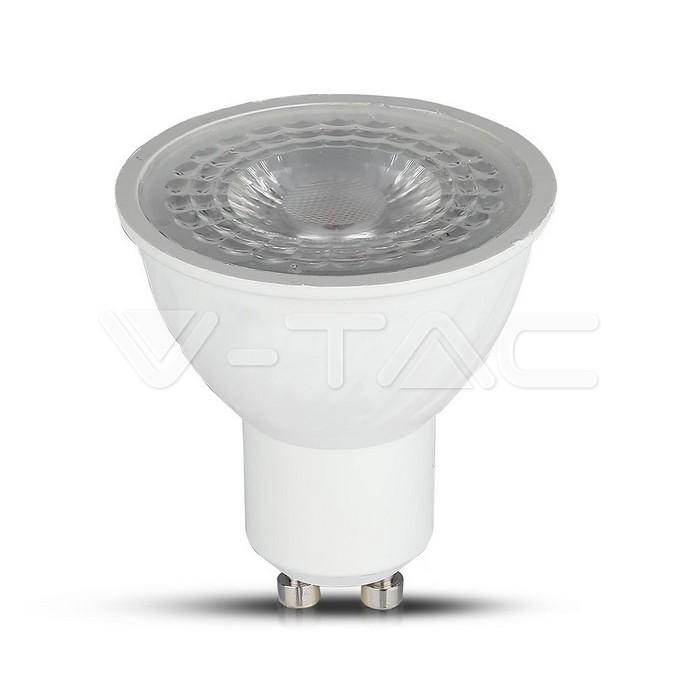 LED faretto 4.5W GU10 110` Lens RA80 WIFI SMART WW + CW