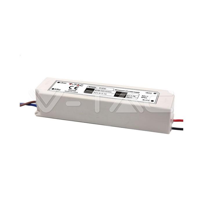 Alimentatore per strisce LED 100W 24V Metallo IP65