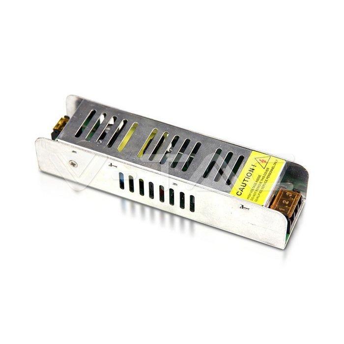 Alimentatore per strisce LED SLIM 25W 12V Metallo IP20