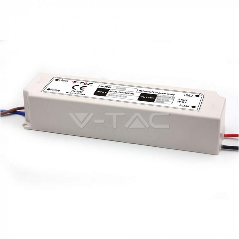 LED Plastica SLIM Power Supply 100W IP67 12V
