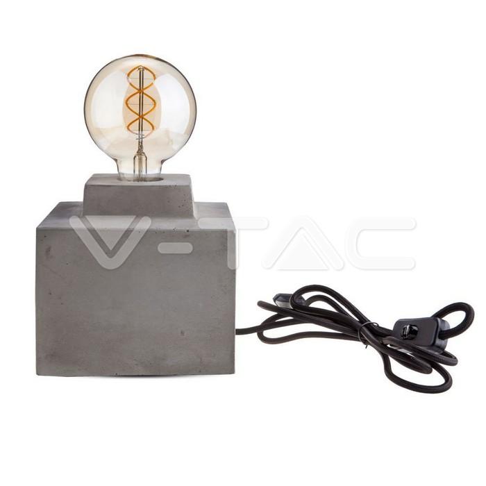 Lampada LED Tavolo Calcestruzzo __160
