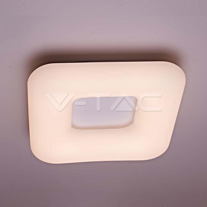 26W Pendente Quadrato Cambia Colore Surface Dimmerabile Bianco