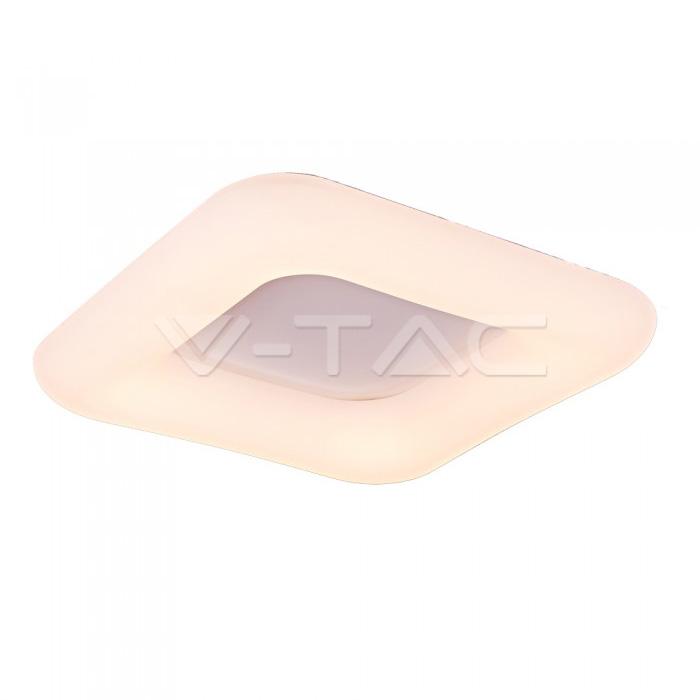 42W Pendente Quadrato Cambia Colore Surface Dimmerabile Bianco