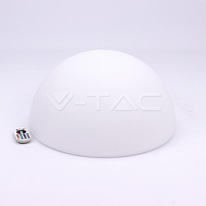 LED Mezza sfera rotonda RGB D50*26CM