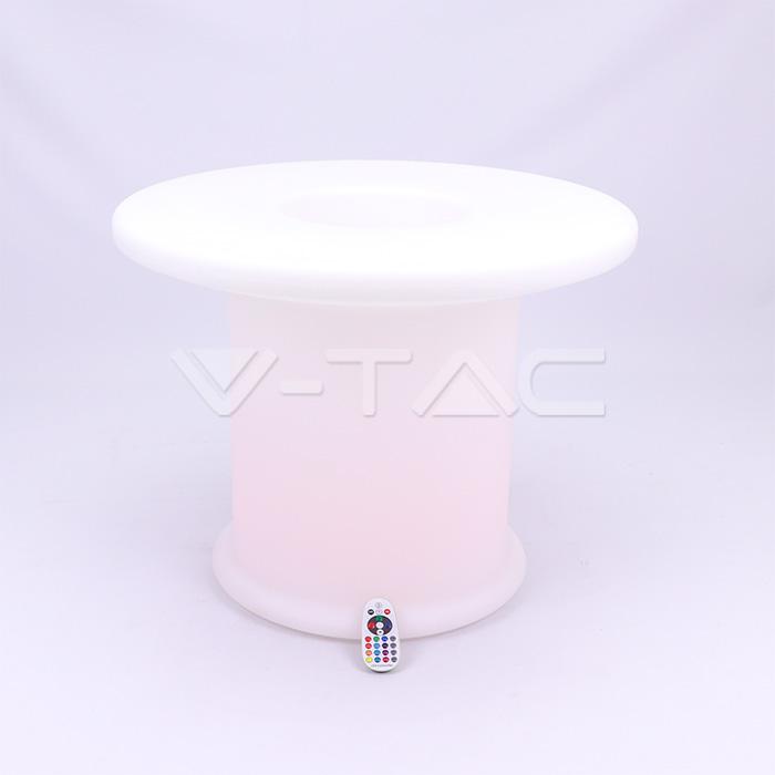LED Tavolino da caffe' RGB D70*54CM