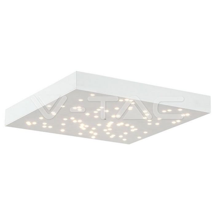 Pannello di design a LED 8W Cielo Stellato Cambia Colore Corpo Bianco