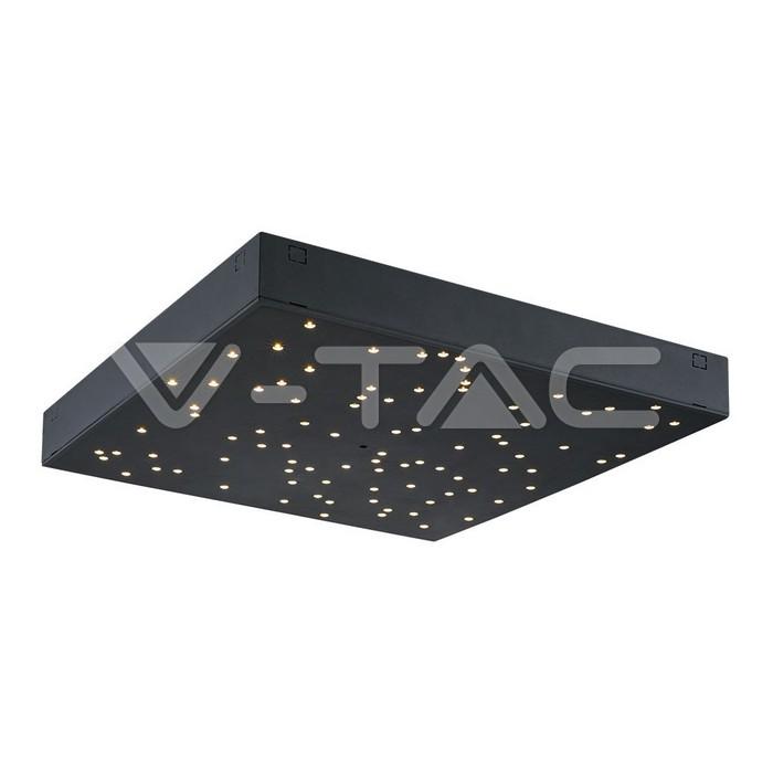 Pannello di design a LED 8W Cielo Stellato Cambia Colore Corpo Nero