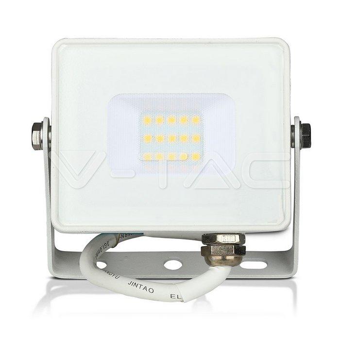 10W LED Proiettore SMD SAMSUNG Chip Corpo Bianco 3000K