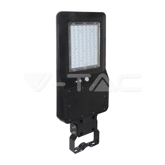 40W LED Armatura solare stradale Corpo nero  4000K 120lm/W