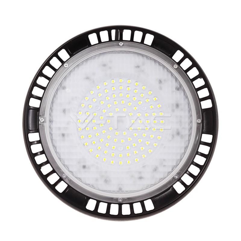 100W LED High Bay UFO A++ Meanwell Bianco 5 anni di garanzia 90gradi