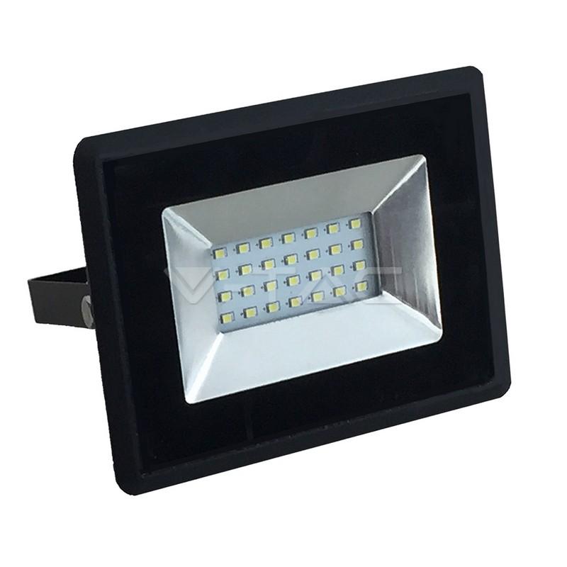 20W LED Proiettore SMD E-Series Corpo Nero Bianco Caldo