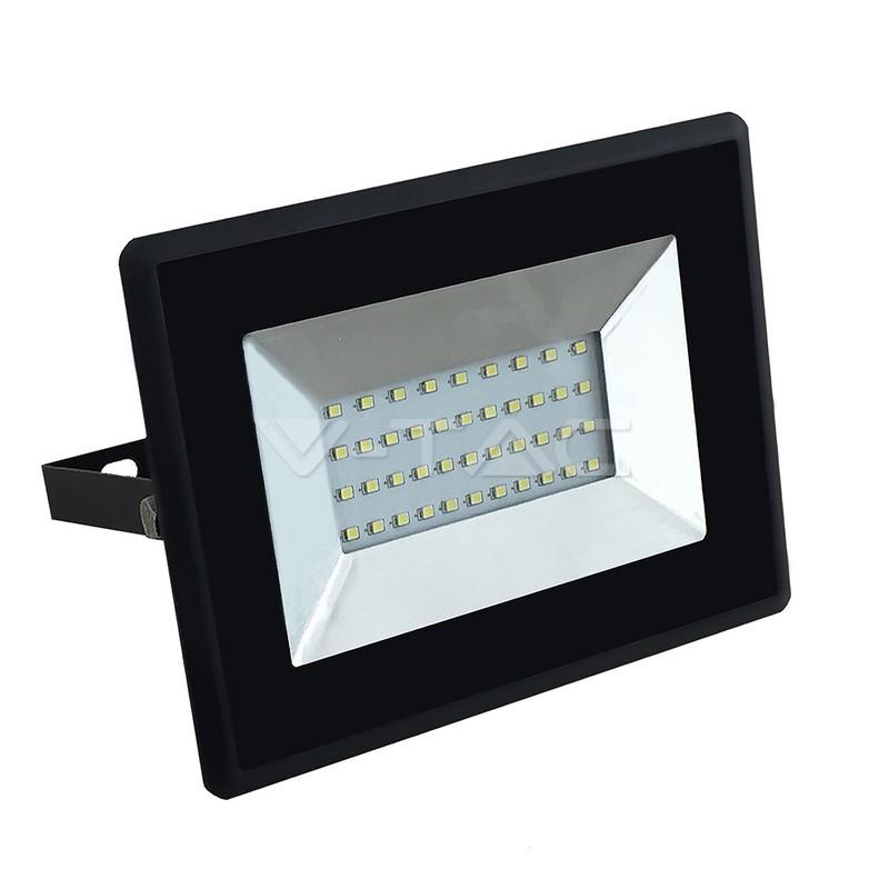 30W LED Proiettore SMD E-Series Corpo Nero Luce Bianca