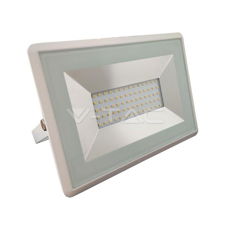 50W LED Proiettore SMD E-Series Corpo Bianco Bianco Naturale