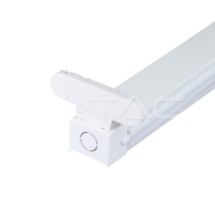 Plafoniere aperte per tubo LED 1 500 mm 2pz