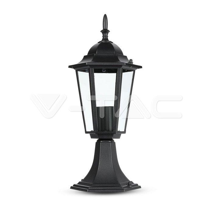 Lampada Giardino E27 30cm Nero