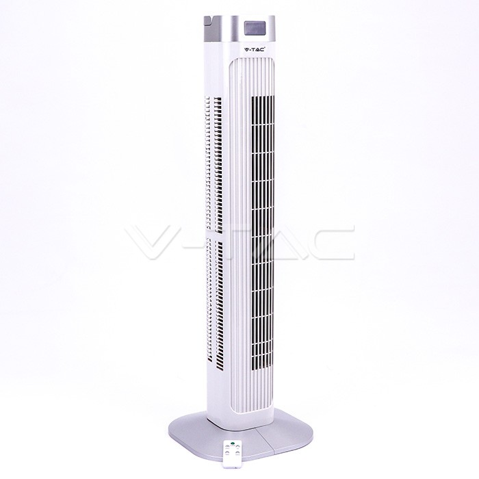 55W LED Ventilatore a torretta 36 Inch Bianco