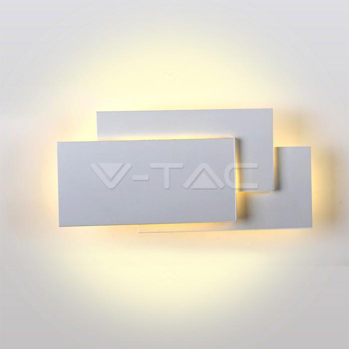 Corpo grigio LED IP20 per parete 4000K 12W