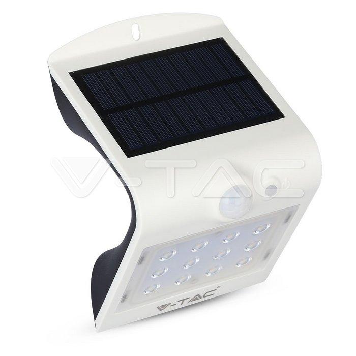 1.5W LED Lampada Solare 4000K Corpo Bianco