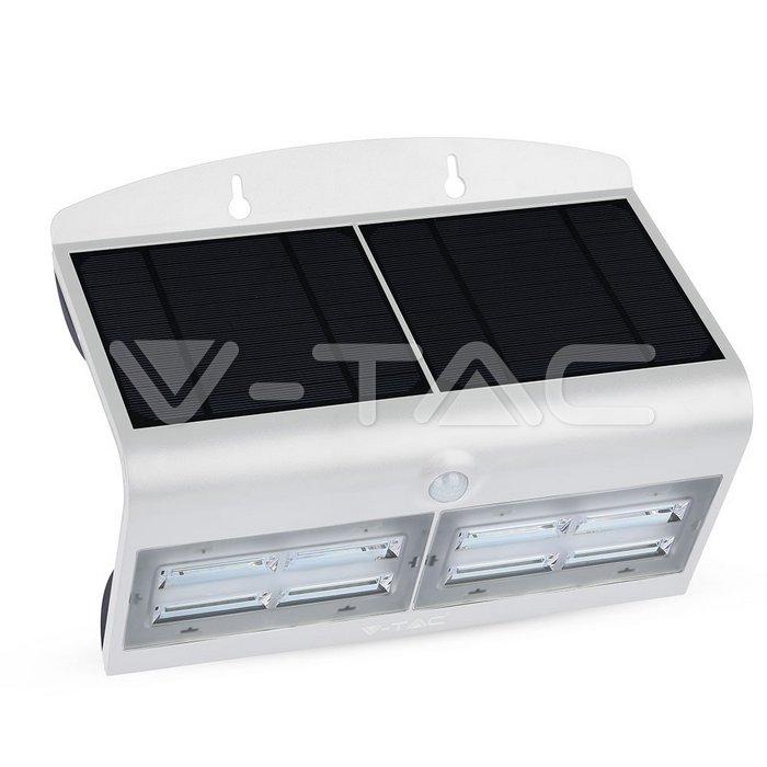 6.8W LED Lampada Solare Luce Bianco Naturale Corpo Bianco