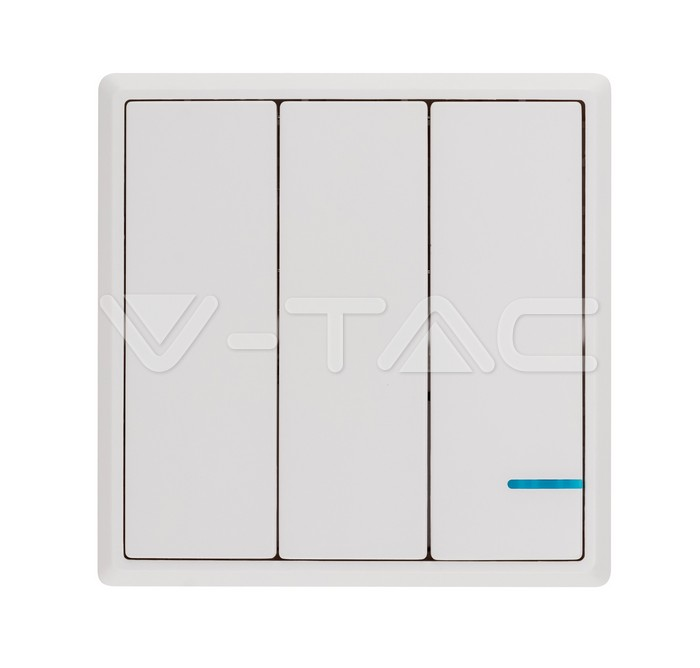 Wireless Switch 3 Gang IP54