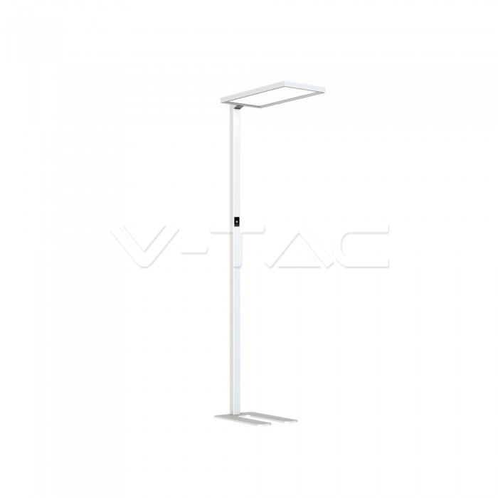 80W LED Floor Lamp Touch Dimmerabile Up/Down Bianco 4000K