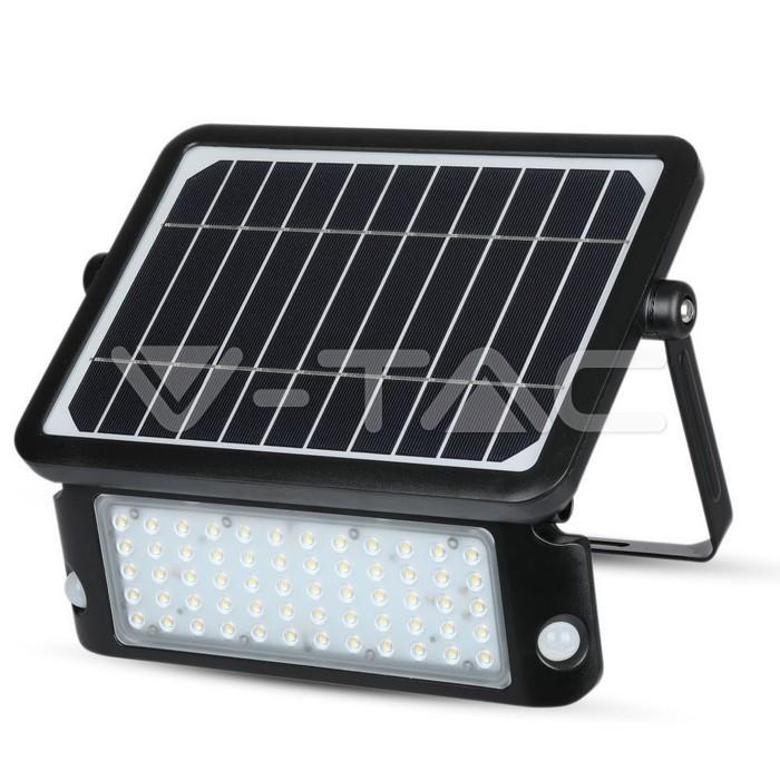 10W LED Lampada Solare Corpo Nero 4000K